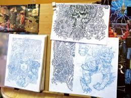 creating art colouring book creative bloq