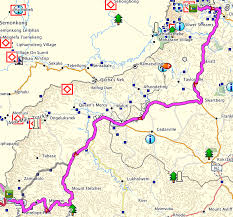 Drakensberg Mountains Map Drakensberg Bloemfontein Trip U2013 Post3 Lani4travel