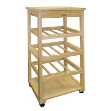 Dining Room Table With Wine Rack Altra Furniture Mercer White 21 Bottle Wine Cabinet 7465096pcom