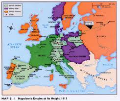 Napoleon Ohio Map by The French Revolution Napoleon U0027s Empire Congress Of Vienna