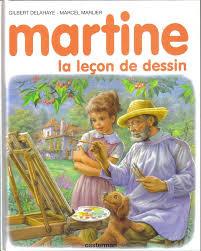 martine fait la cuisine martine 49 martine la leçon de dessin