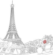 france coloring travel book coloring pages for adults