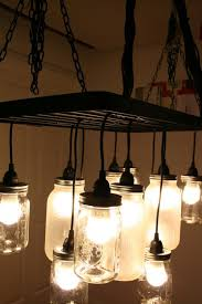 How To Make A Fake Chandelier Best 35 Diy Easy And Cheap Mason Jar Projects