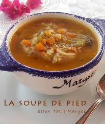 recettes de cuisine antillaise la soupe de pied une recette du patrimoine antillais