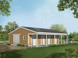 barnhart horse barn plan 002d 7522 house plans and more