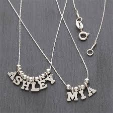 silver necklace cheap images Personalized name silver necklace jpg