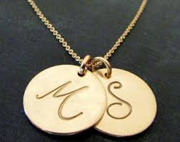 charm necklace letters images Gold letter necklace gold initial necklace letter charm jpg