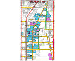 Las Vegas Hotel Strip Map by Maps Of Las Vegas Detailed Map Of Las Vegas City Tourist Map