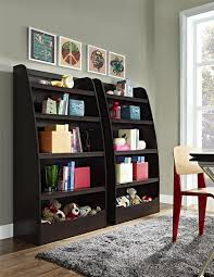 amazon com ameriwood home hazel kids 4 shelf bookcase espresso
