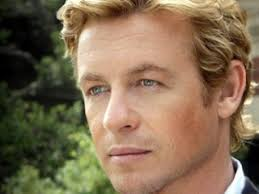 blond hair actor in the mentalist simon baker not usually a fan of blonde haired men but this guy
