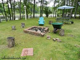 Brick Fire Pit Kit by Easy Diy Fire Pit Kit With Grill Redhead Can Decorate