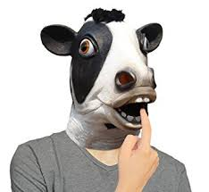 Animal Halloween Costumes Amazon Lubber Latex Animal Halloween Costume Head Mask