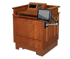 Lectern Desk Ada Compliance U0026 Custom Furniture Marshall Furniture