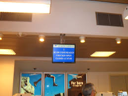 file check in desk at vágar airport jpg wikimedia commons