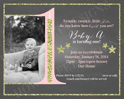 twinkle twinkle little star birthday invitations twinkle twinkle