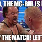 Undertaker Meme - undertaker brock leaner laugh meme generator imgflip
