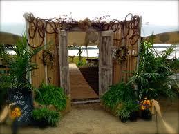 Wedding Arches Newcastle Rustic Outdoor Wedding Doors For Bride Reveal Rustic Couple U0027s