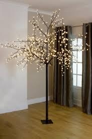 led blossom trees ceremony decor ideas mirror pedestals