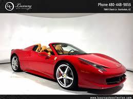 458 spider rear 2015 458 italia spider carbon fiber shields