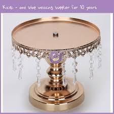 16926 2 decorative acrylic crystal chandelier wedding cake stand