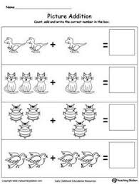 count and write the number of animals writing numbers printable