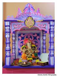 ganapati gauri decoration my home