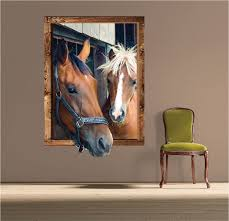 Horse Frame Wall Decal Large Wall Decals Primedecals - Wall design decals