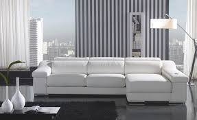 Modern Gray Leather Sofa House Modern Sofa Top Grain Real Leather Sofa Couches L Shaped