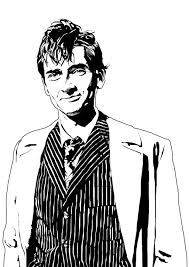 dr who a4 lineart by jonathanwyke on deviantart
