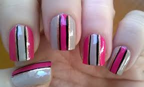easy nail art designs 7 diy elegant striped nails without