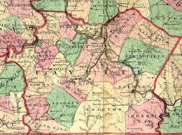 Pa County Map Fayette County Pennsylvania Maps And Gazetteers