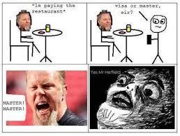 Metallica Meme - metallica short