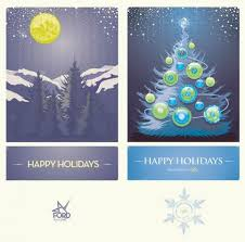 christmas cards and other holiday graphic design inspiration