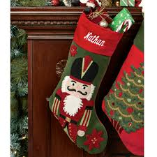 tufted velvet christmas stockings