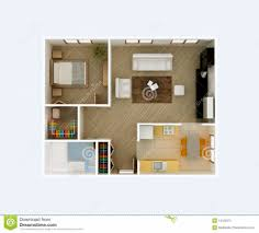 home design home apartment floor plan d design royalty free stock