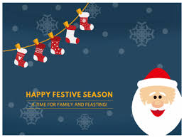 happy festive season fotor photo cards free photo card
