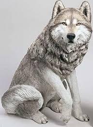 superb garden statues for animal freaks wolf garden statues
