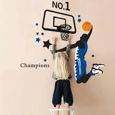 slam dunk basketball wall sticker wall art decals vinyl wall