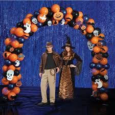 cheap halloween party decorations cheap balloon arch u0026 column frame for 10inch balloons and 12 inch