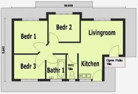 simple one bedroom house plans 3 room house plan internetunblock us internetunblock us