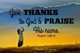 enter god s presence with thanksgiving for god s alone