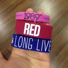 hand rubber bracelet images Taylor swift rubber bracelets combo women 39 s fashion jpg