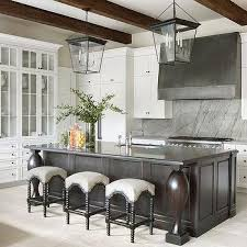 dark gray wainscot kitchen island design ideas
