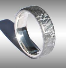 Meteorite Wedding Ring by It U0027s A Ring Made From A Meteorite What Kieler Will Be Getting