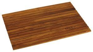 teak shower mat with bath mat burmese teak oil finished teak bath