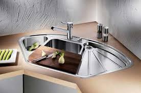 corner sinks for kitchens modern an d luxury corner kitchen sink