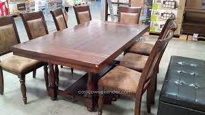 Costco Furniture Dining Room 9 Teak Outdoor Dining Set Costco Outdoor Designs