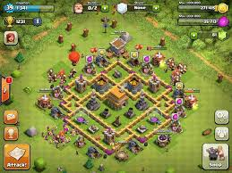 amazing clash of clans super clash of clans base designs town hall level 6 1337 wiki