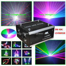 rgb laser light 5w rgb outdoor laser china manufacturer