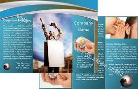 free brochure template graphics and templates